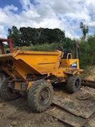 Camion DUMPER jaune