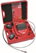 Mallette rouge caméra